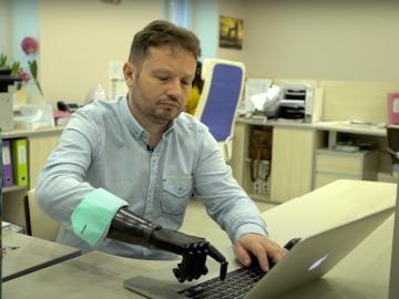 Бионическая кисть Vincent Systems